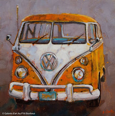 Acrylic VW Bus part 2  - Live-Stream