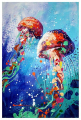 Family Paint - Jellyfish $25