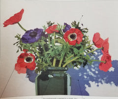 Poppies in Vase - 3 Hour Class!