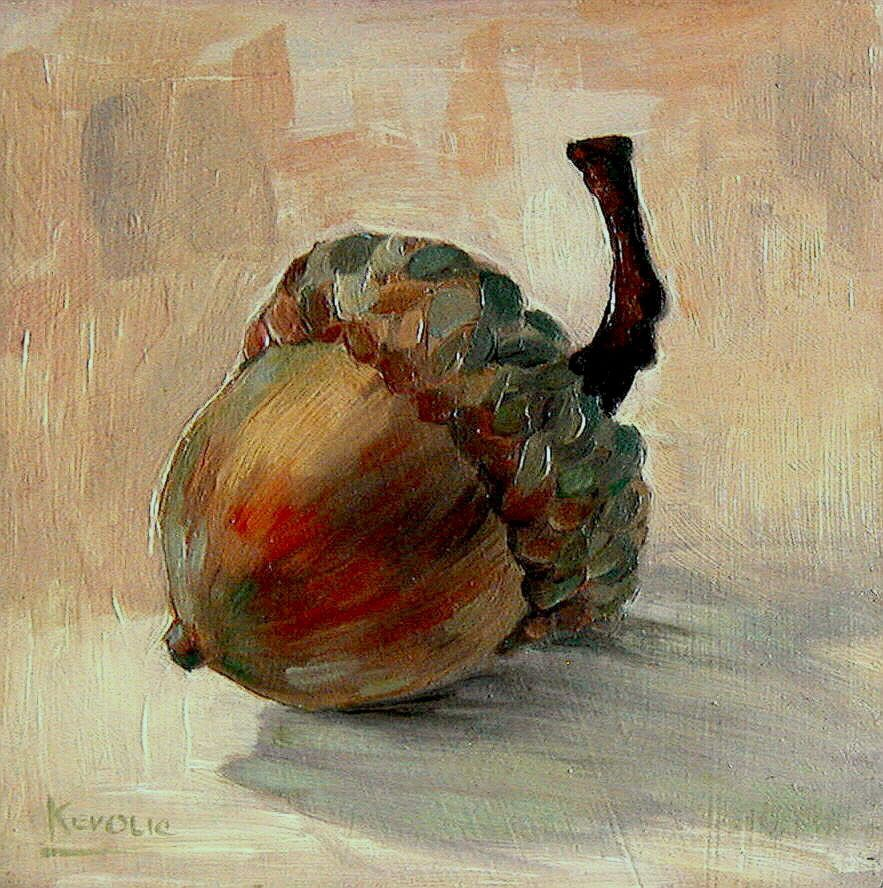 Acorn and Pear