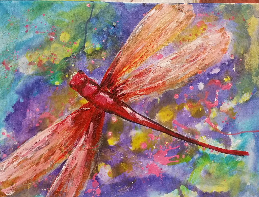 Kids Paint - Dragonfly