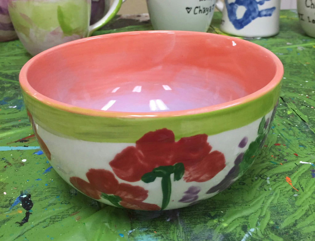 Ceramics - Flower Bowl