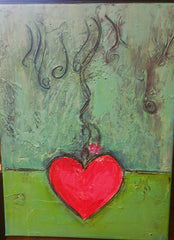 Heart - Mixed Media