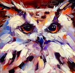 Paint an Owl for the Snowgoose Festival