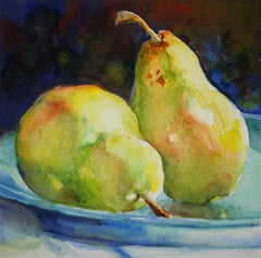 Watercolor Pears - Live-Stream