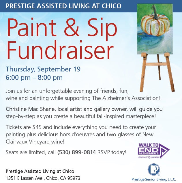 Alzheimer's Fundraiser - Prestige Assisted Living