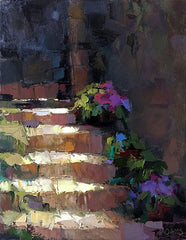 Acrylic Sunlit Stairs - Live-Stream