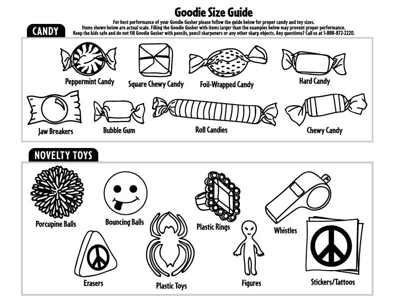 Goodie Size Guide