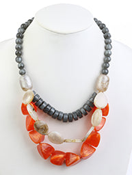 Homaica Bead Necklace