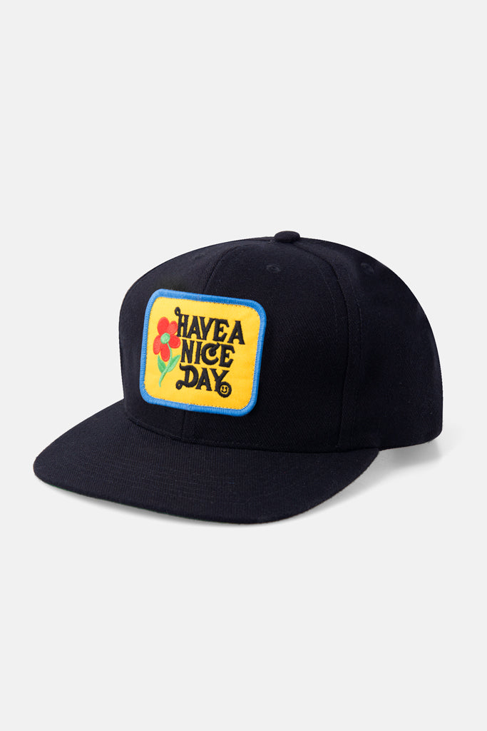 Have a Nice Day Snapback - Black