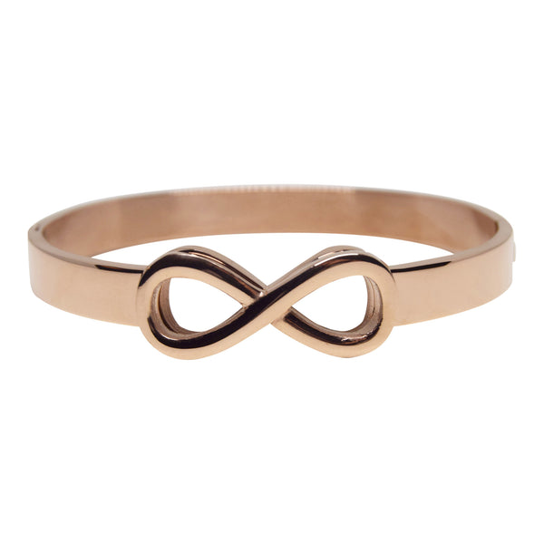 Infinite Hope Bangle - Rose Gold