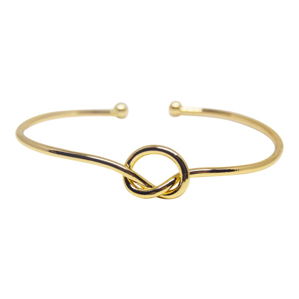 Love Knot Bangle - Gold