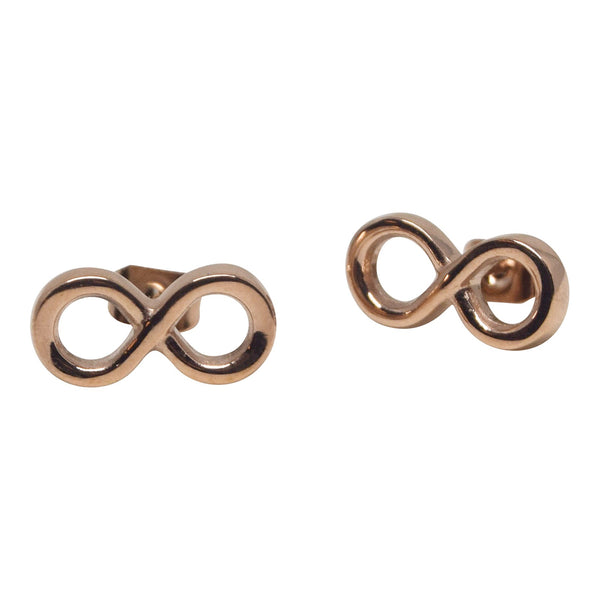 Infinite Hope Earrings - Rose Gold