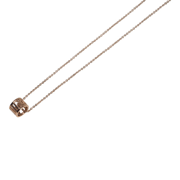 Roman XII Necklace - Rose Gold