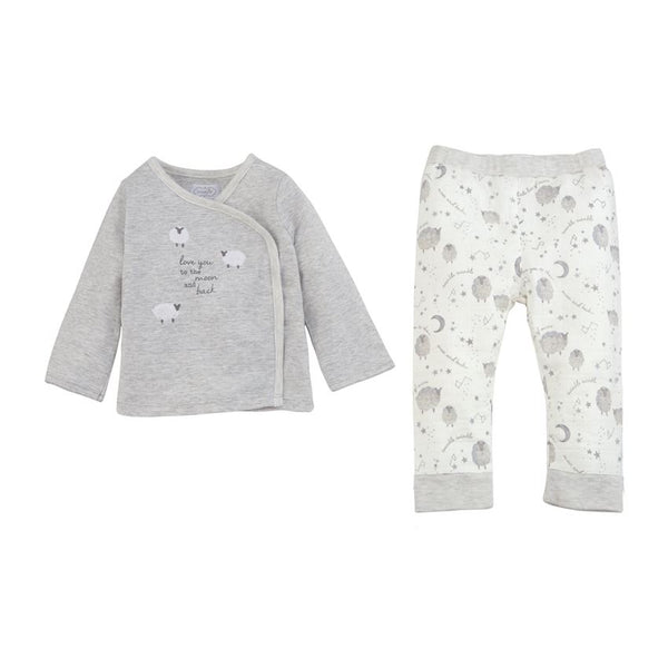 Mudpie Sheep Two Piece Set