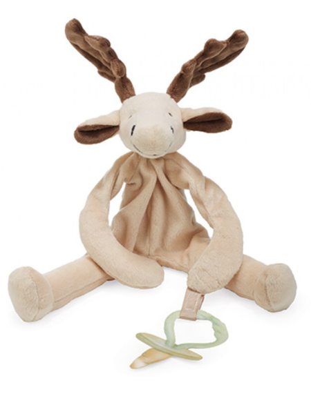 Bunnies by The Bay - Camp Cricket Collection - Silly Buddy / Pacifer Holder Bruce
