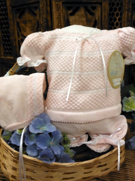 Willbeth Pink Knit Bring Me Home Outfit