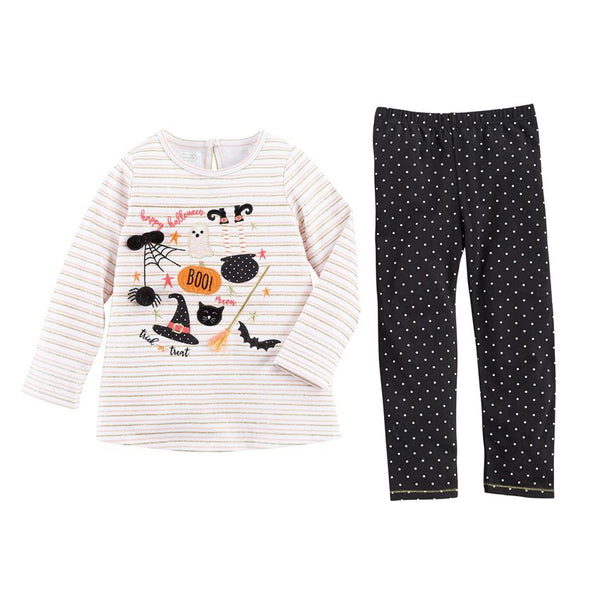 Mudpie Halloween Tunic & Legging Set