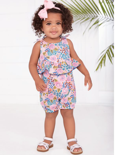 Mudpie Romper -  Wild At Heart