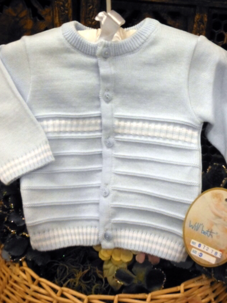 Willbeth Boys Blue Sweater