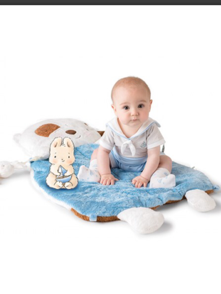 Bunnies By The Bay - Playmat Blanket  Skipit Pup