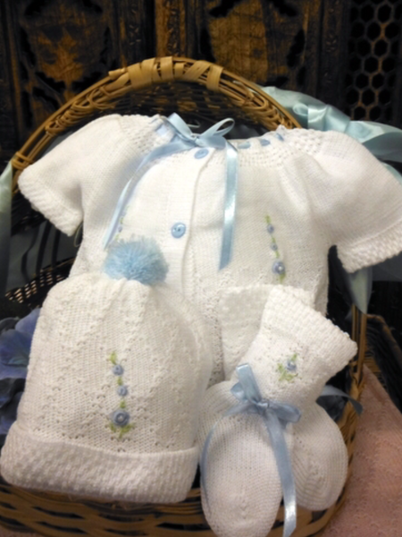 Willbeth White / Blue Bring Me Home Outfit