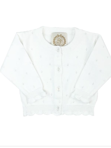 The Beaufort Bonnet Kitty Cardigan in White