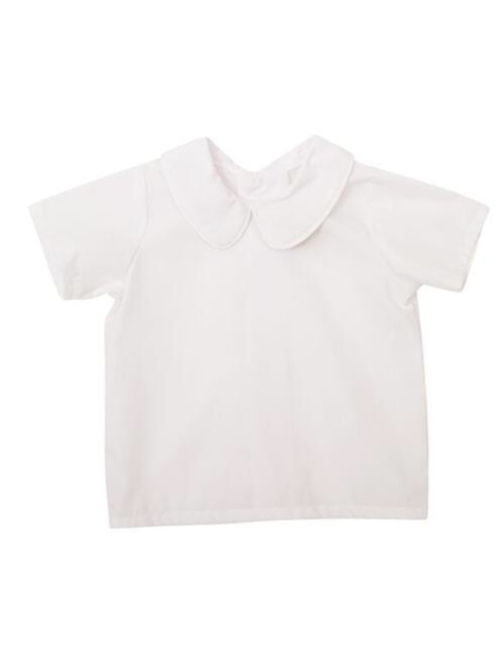 The Beaufort Bonnet Company Peter Pan Collar Shirt Sleeve Shirt