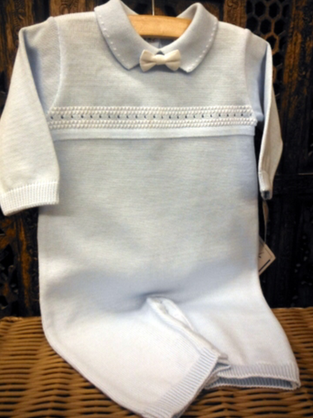 Willbeth Boys Knit Overalls