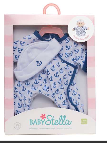 Baby Stella Boy Anchors Away Oufit