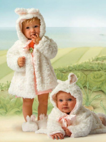 Bunnies by the Bay Original Cuddle Coat