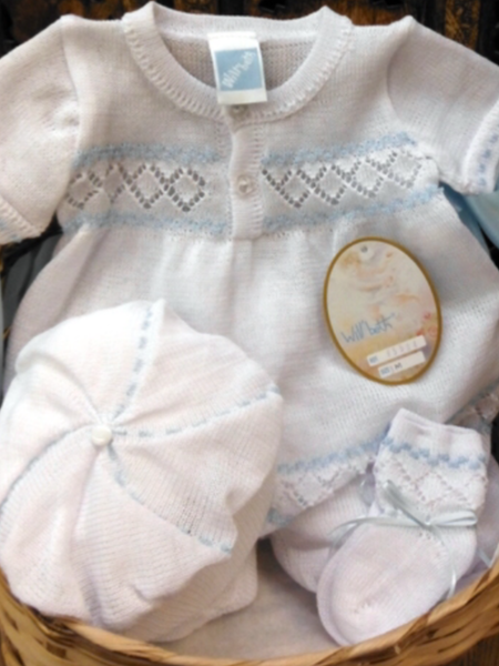 Willbeth Knit Boys Bubble Bring Me Home Outfit