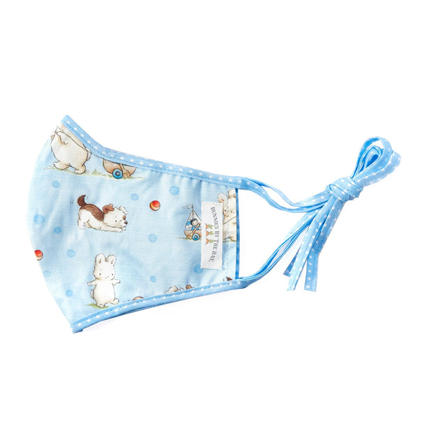 Bunnies By The Bay Cloth Child Face Mask - Skipit & Bud