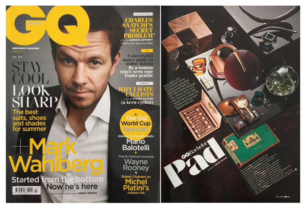 GQ Magazine - Bachelor Pad