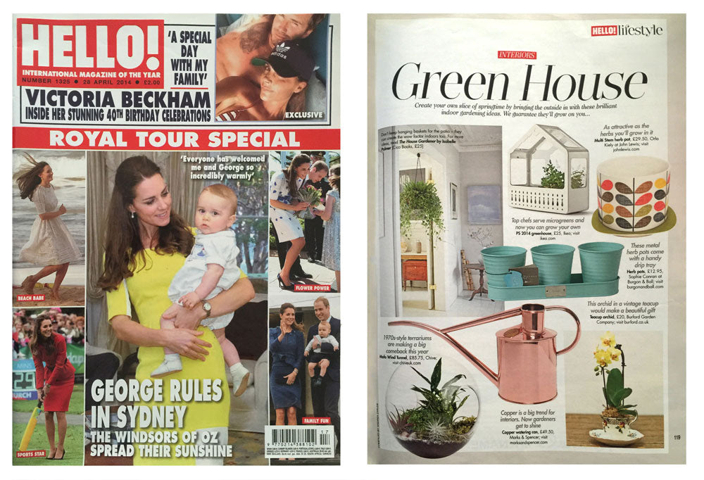 Hello! Magazine - Green House