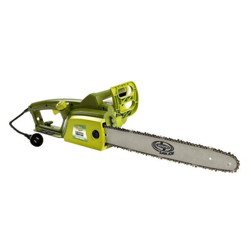 Sun Joe 18-Inch 14-Amp Electric Chain Saw - Refurbished