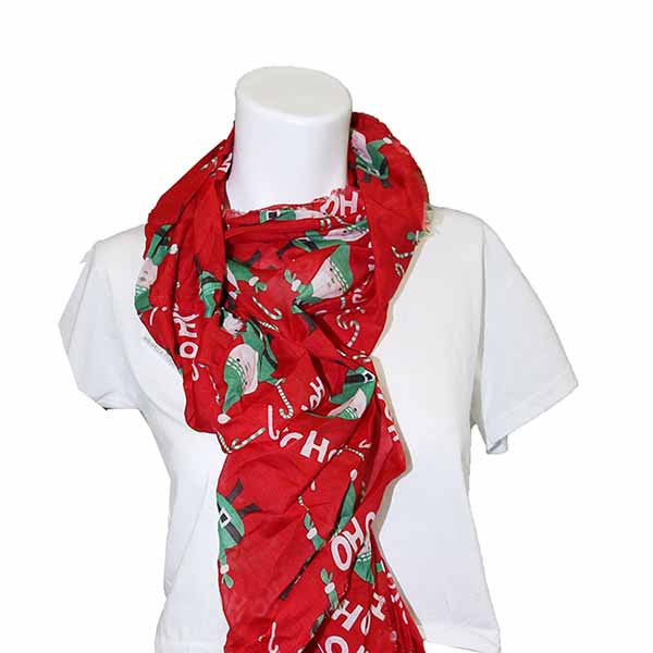 Collection Eighteen Assorted Loop Neck Scarves - Assorted Sizes And Colors - Under $30.00