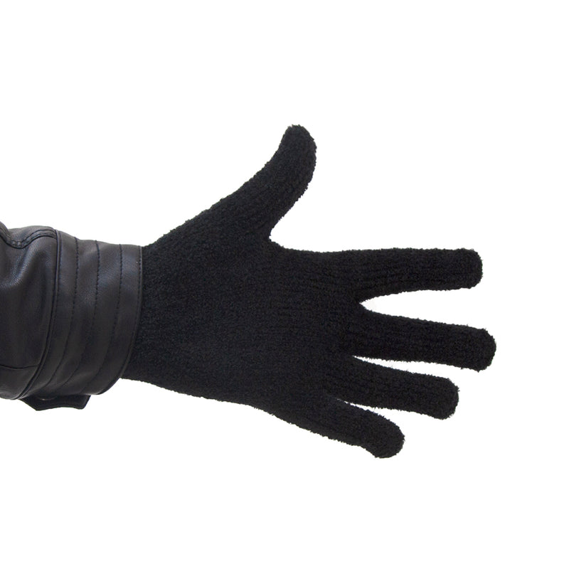 Microfiber Winter Gloves (Black)