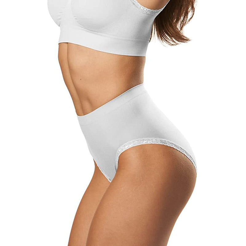 Genie Briefs Lace White/ 3X Mail Order - As Seen On TV