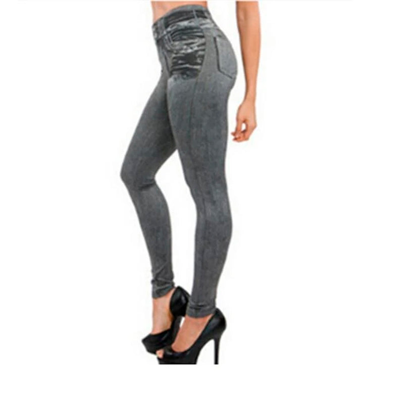 Genie Slim Jeggings Grey L/XL L/XL - Mail Order  Bag