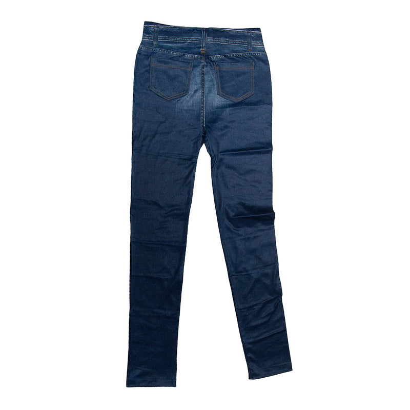 Genie Slim Jeggings Blue 3X 3X - Mail Order