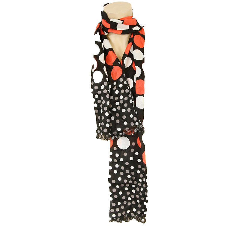 Wrap Small Large Polka Dot Neck-wrap