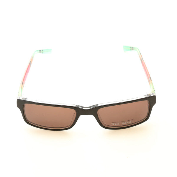 Girl's New Wave Sunglasses (Black Crystal)