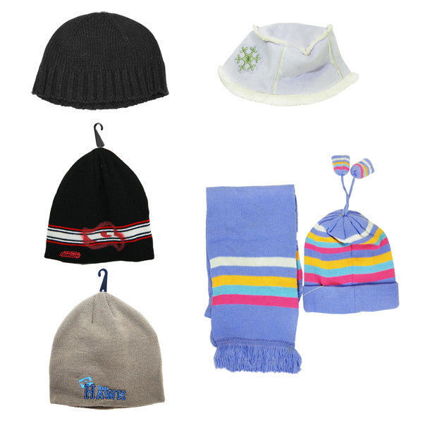 Winter Hats (Assorted) -  Sold By Case of 24