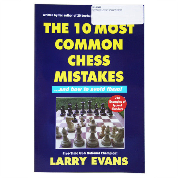 Ten Most Common Chess Mistakes