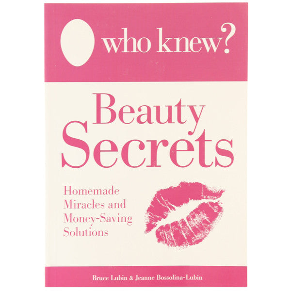 Who Knew? Beauty Secrets Homemade Miracles and Money Saving Solutions