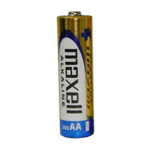 Maxell Alkaline AA Battery 2 pk - Exp 2023, Eng/Sp/Fr,48/case