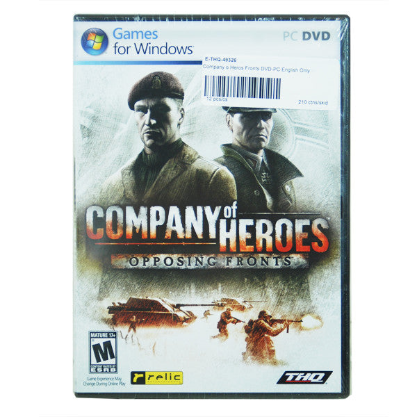 Company of Heroes DVD-PC Game,English