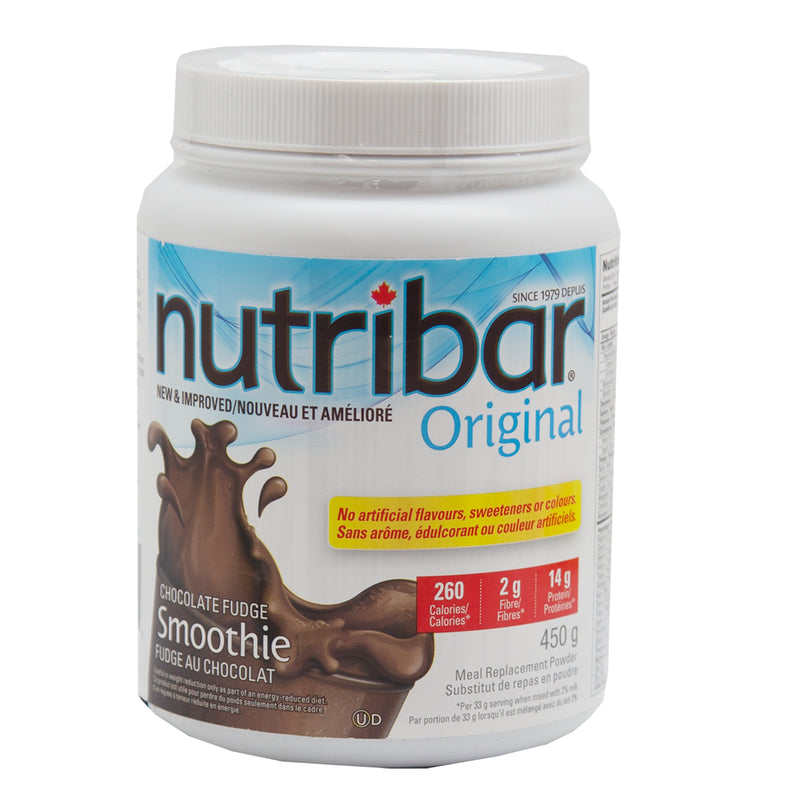 Nutribar Original Smoothie Chocolate Fudge 450 gr - Exp. 03-21