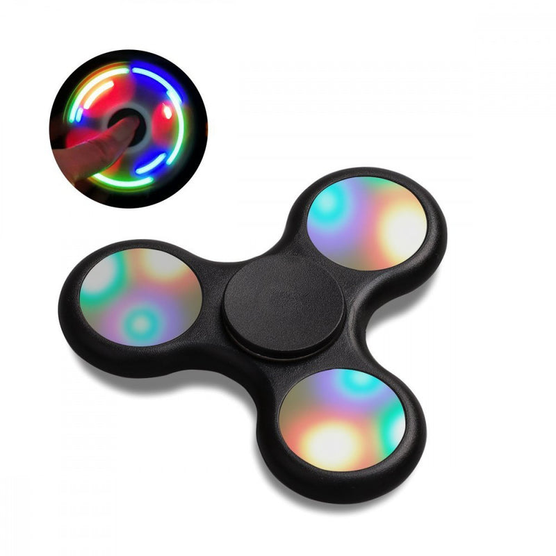 Fidget Spinners with LED Push Button Light